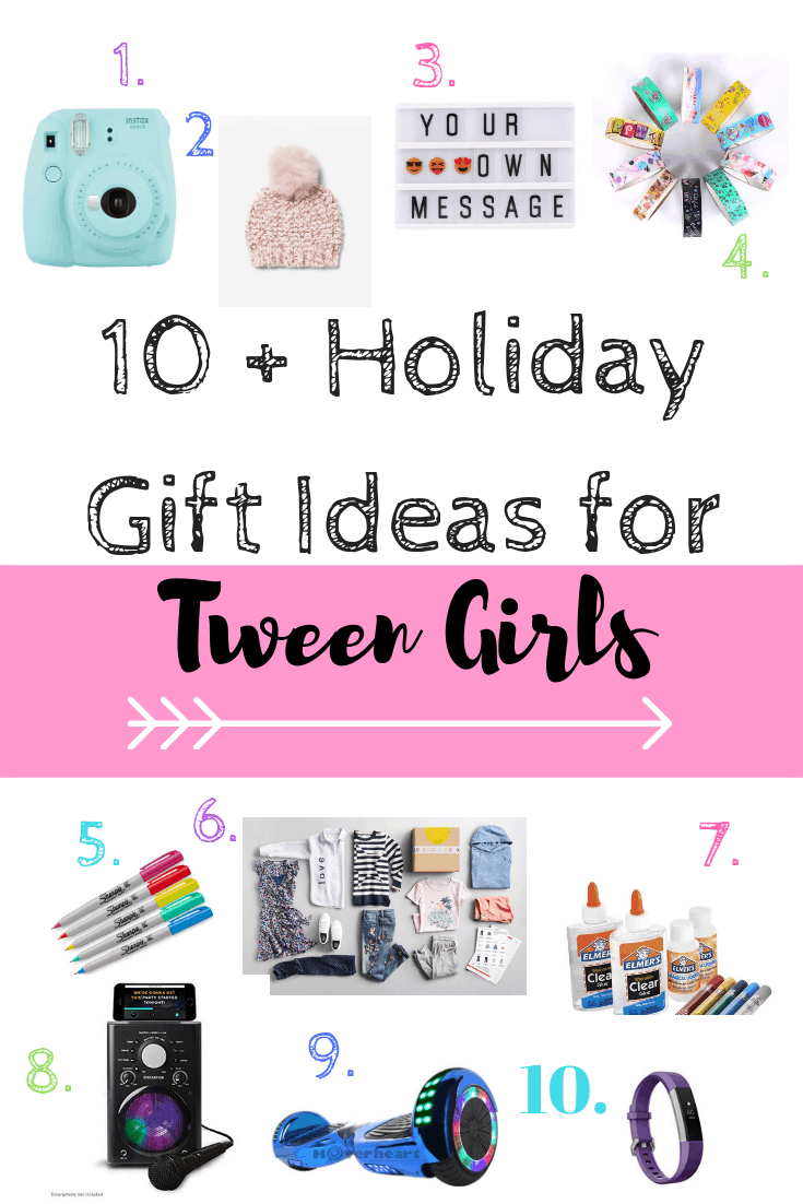 What to get a tween girl for Christmas #giftideas #girls #kids #teens  sc 1 st  Coffee Pancakes u0026 Dreams & Tween Girl Holiday Gift Guide - Coffee Pancakes u0026 Dreams