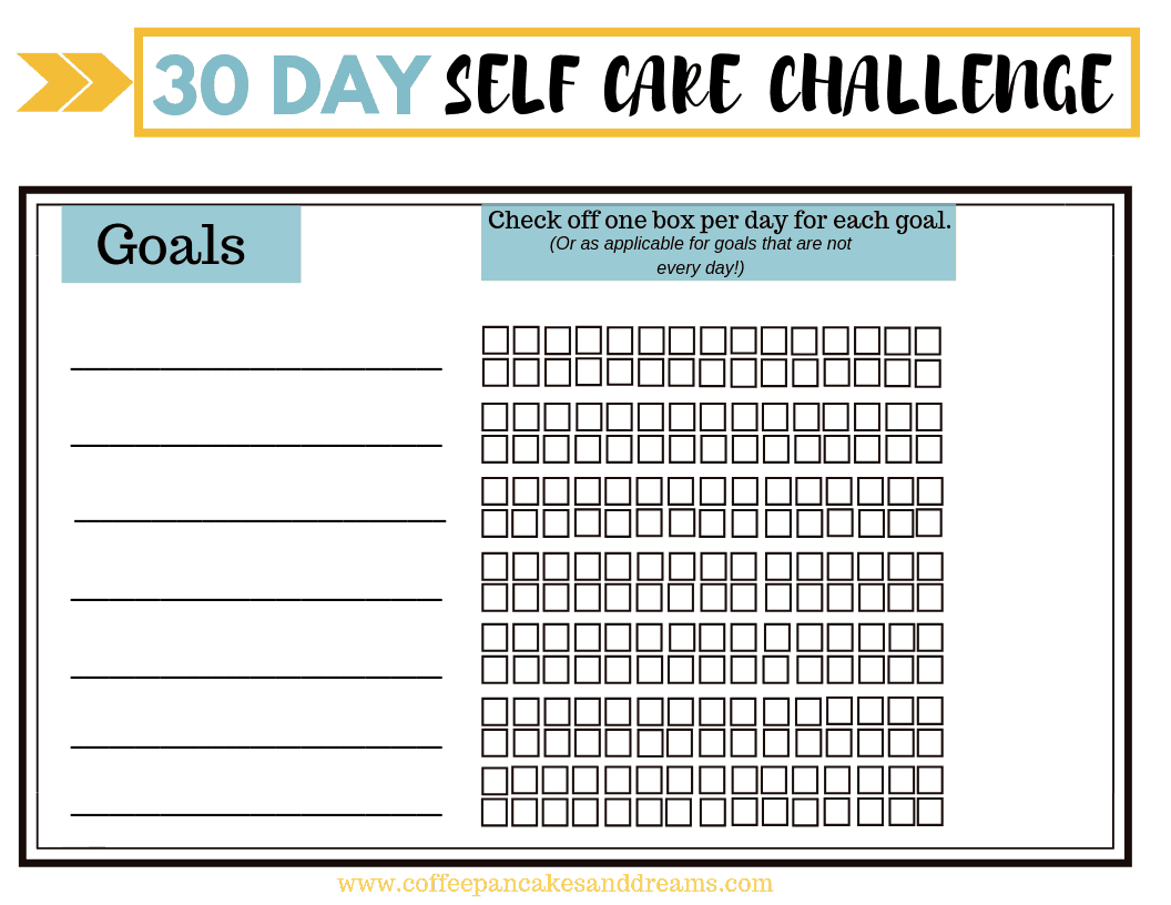- Join The 30 Day Self Care Challenge (Free Printable Worksheet