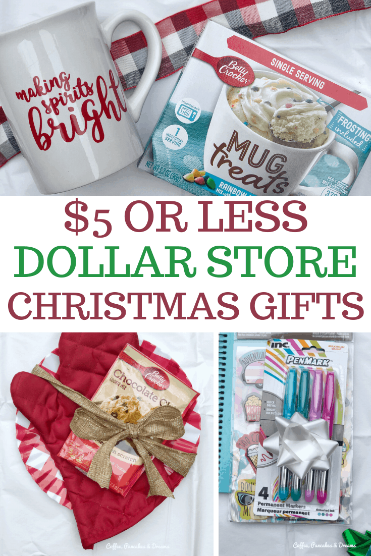 5 Dollar Store Gift Ideas For Everyone On Your List Coffee Pancakes Dreams