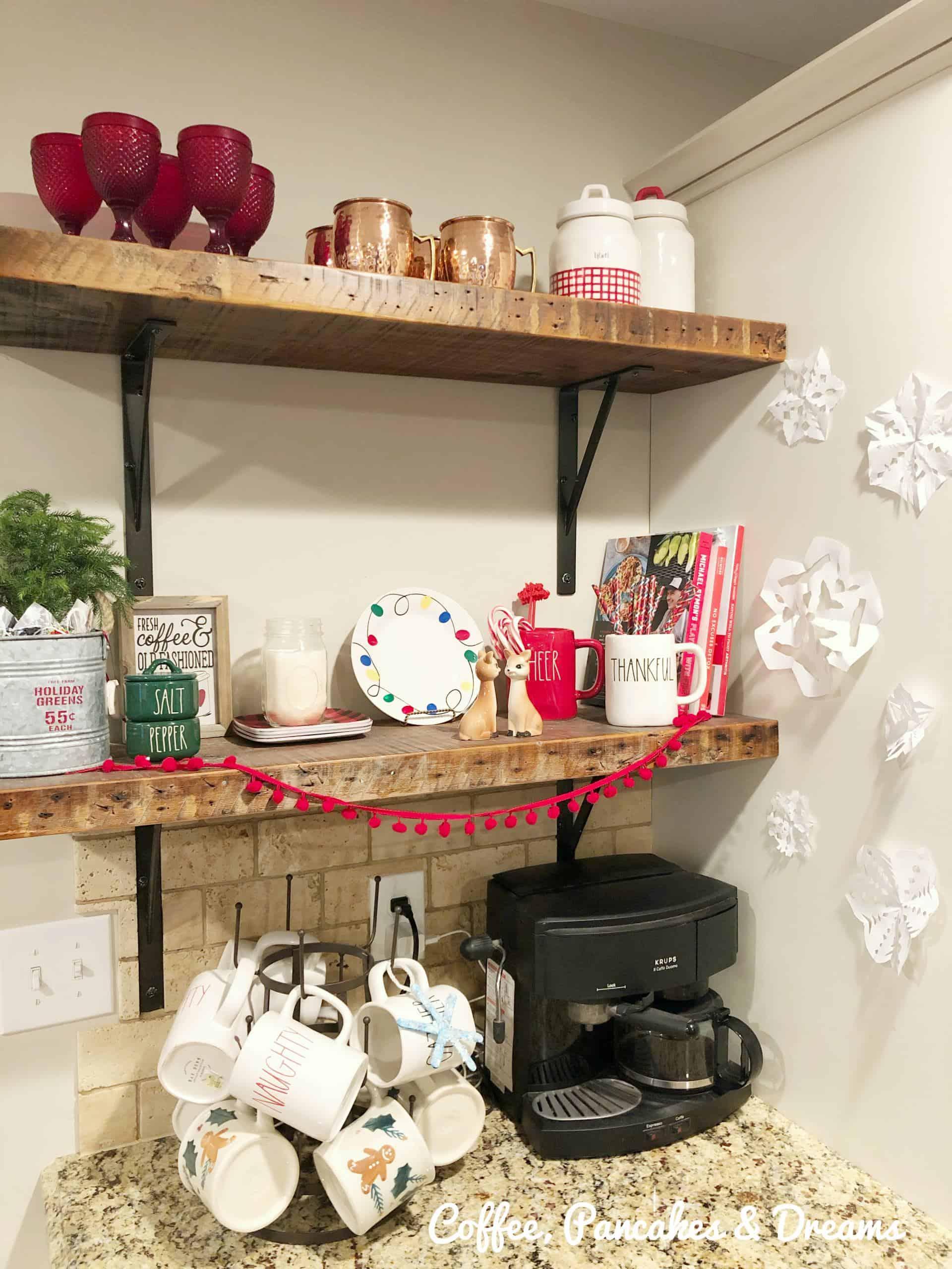 Cozy Cottage Style Christmas Decor Home Tour Coffee Pancakes Dreams